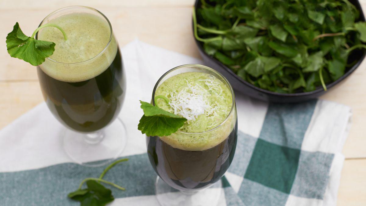 Nước rau má: thức uống giải nhiệt siêu tốt cho người bệnh tiểu đường