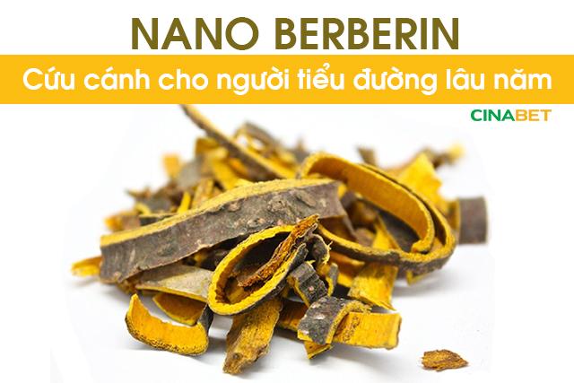 berberin cứu cánh cho người tiểu đường, berberin hạ đường huyết, berberin giảm đường huyết, trị tiểu đường bằng berberin, berberin trị tiểu đường, cinabet, cinabet cho người tiểu đường, vietlife cinabet, nano berberin, berberin, nano berberin trị tiểu đường