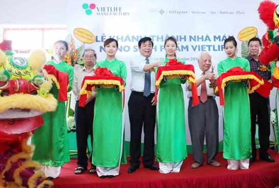 Nhà máy Nano Sinh phẩm Vietlife chính thức đi vào hoạt động từ ngày 20/6/2016