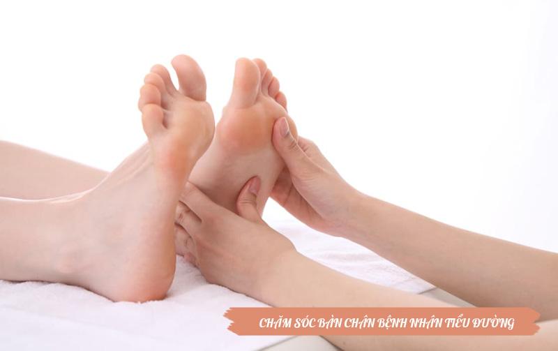 Hé lộ cách chăm sóc bàn chân ở bệnh nhân tiểu đường 1