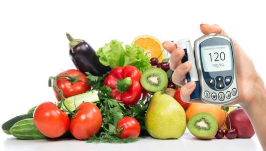 Chế độ ăn uống kiểm soát bệnh tiểu đường