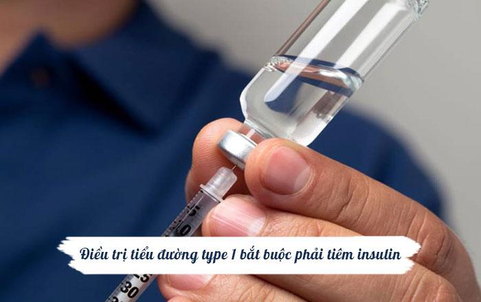 Điều trị đái tháo đường type 1 bằng tiêm insulin