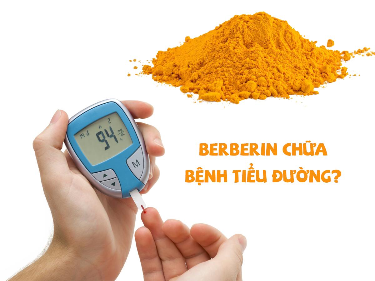 Berberin tương đương với loại thuốc trị bệnh tiểu đường phổ biến là metformin
