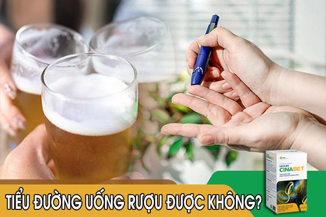 Người bệnh tiểu đường tốt nhất là không nên uống rượu