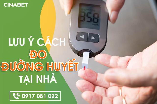 Cách tự đo đường huyết tại nhà