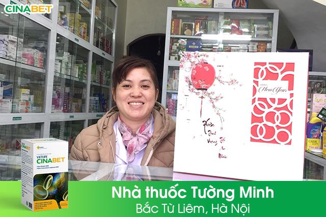Cinabet tri ân nhà thuốc Tường Minh