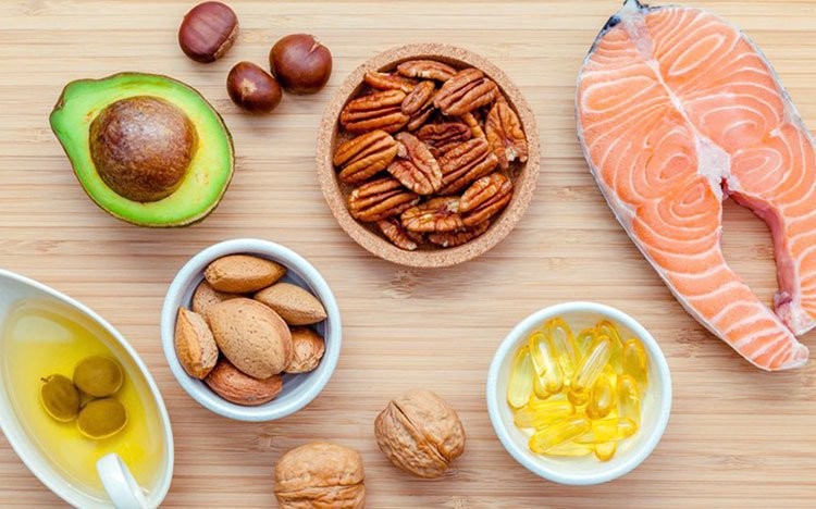 Các đồ ăn chứa nhiều Axit béo chưa no