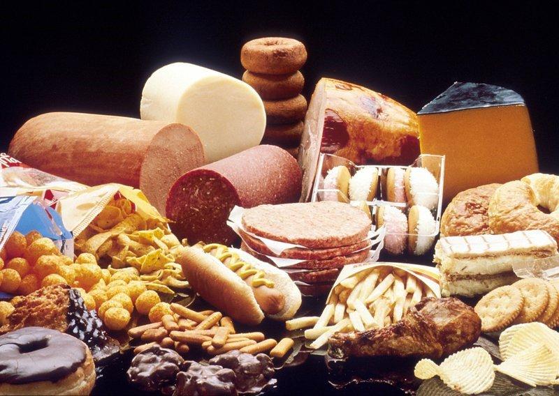 Thực phẩm chứa nhiều chất béo bão hòa