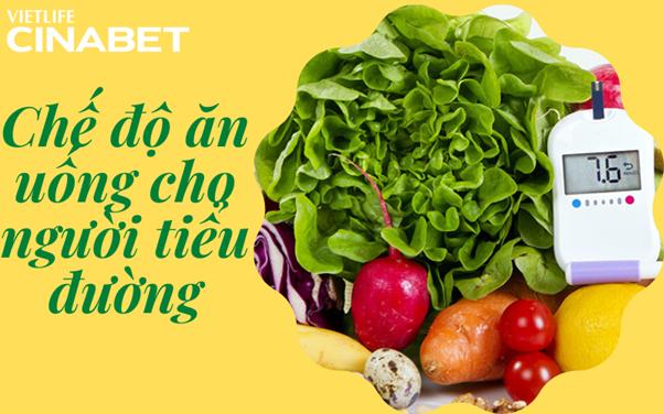 Chế độ ăn uống lành mạnh cho người tiểu đường